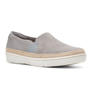 NEW Clarks Collection Marie Sail Suede Sneakers